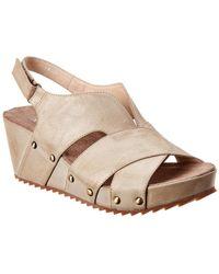 Antelope 536 Leather Wedge Sandal