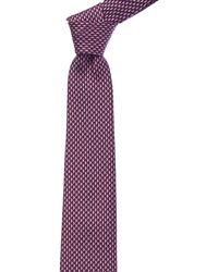 Ferragamo - Magenta Sailboat Silk Tie - Lyst