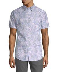 Brooks Brothers - Tropical Print Shirt - Lyst