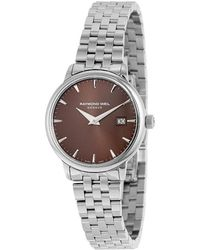 Raymond Weil - Women's Stainless Steel Watch - Lyst