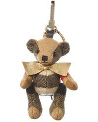 Burberry - Thomas Bear Rucksack Charm - Lyst