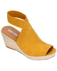 2572d3dcf33 John Lewis and Partners · Kenneth Cole Reaction - Carrie Wedge Espadrille -  Lyst
