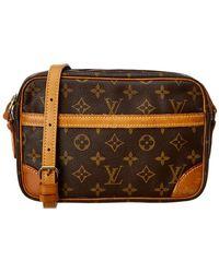 9aac0c7a83ac Lyst - Louis Vuitton Trocadero 27 Crossbody in Brown