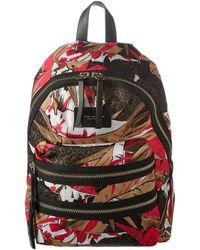 Marc Jacobs - Palm Printed Biker Backpack - Lyst