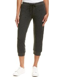 David Lerner - Cropped Lace-up Track Pant - Lyst