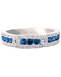 Le Vian - ? 14k 0.67 Ct. Tw. Diamond & Sapphire Ring - Lyst