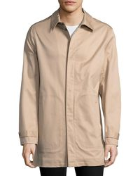 Brooks Brothers - Solid Snap Car Coat - Lyst