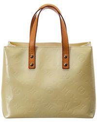Louis Vuitton - White Monogram Vernis Leather Reade Pm - Lyst