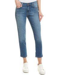 Joe's Jeans - Norah Boyfriend Slim Crop - Lyst