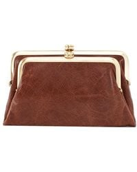 Hobo - Suzette Leather French Wallet - Lyst