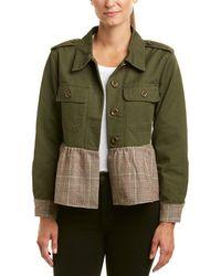 Lea & Viola - Military Wool-blend Jacket - Lyst