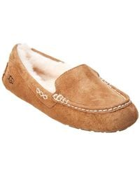 UGG - Ansley Suede Slippers - Lyst
