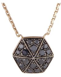 Stephen Webster - Deco 18k Rose Gold 0.57 Ct. Tw. Diamond Necklace - Lyst