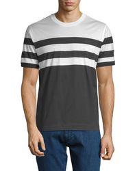 Ermenegildo Zegna - Striped T-shirt - Lyst