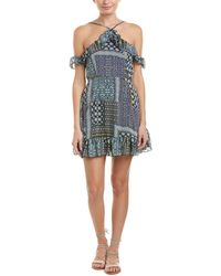 Romeo and Juliet Couture - Ruffle Shift Dress - Lyst