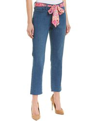 NYDJ - Sheri Yucca Valley Ankle Crop - Lyst