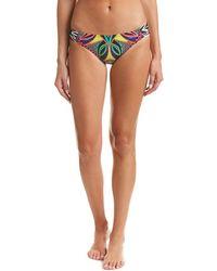 Trina Turk - Africana Shirred Side Hipster Bikini Bottom - Lyst