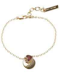 Marc By Marc Jacobs - Jewelry Mj Coin Bracelet - Lyst