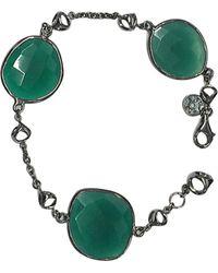 Di Modolo - Silver Onyx Bracelet - Lyst
