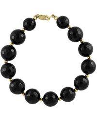 Effy Fine Jewellery 14k 26.00 Ct. Tw. Onyx Bracelet - Black