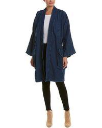 DIESEL - Wendy Linen-blend Overcoat - Lyst
