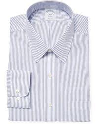Brooks Brothers - Dobby Stripe Dress Shirt - Lyst