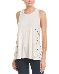 Sundry - Triangles Trapeze Tank - Lyst
