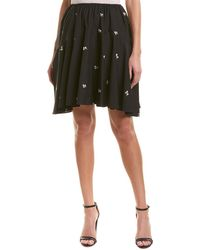 Vince - Embroidered Skirt - Lyst