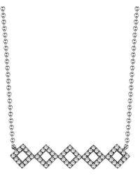 Dana Rebecca - Designs Lisa Michelle 14k 0.22 Ct. Tw. Diamond Necklace - Lyst