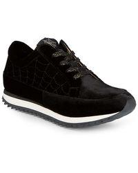 Charlotte Olympia - Work It Webbed Sneakers - Lyst