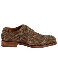 Aquatalia - Vance Woven Waterproof Leather Oxford - Lyst