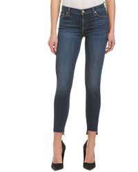 7 For All Mankind 7 For All Mankind Gwenevere Royal Drottningholm Ankle Cut