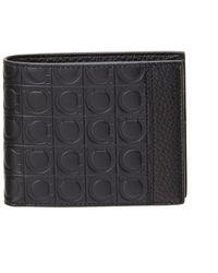 Ferragamo - Firenze Gamma Leather Bifold Wallet - Lyst