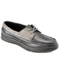 Cole Haan - Truman Leather & Suede Boat Shoe - Lyst
