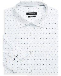 Bugatchi - Shaped-fit Floral Dress Shirt - Lyst