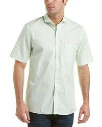 RAFFI - Modern Fit Woven Shirt - Lyst