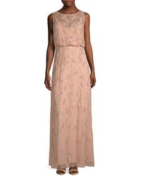 Adrianna Papell - Blouson Gown - Lyst