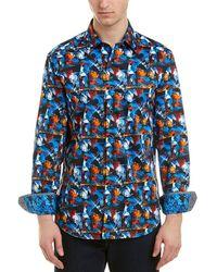 Robert Graham - Cabreo Classic Fit Woven Shirt - Lyst