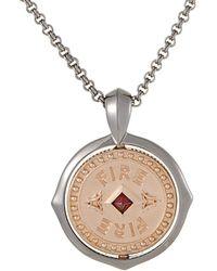 Stephen Webster - Silver 0.12 Ct. Tw. Garnet Necklace - Lyst