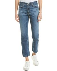 AG Jeans - The Isabelle Crashing Wave Straight Leg - Lyst