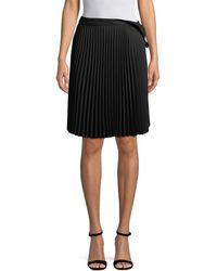 Balenciaga - Pleated Skirt - Lyst