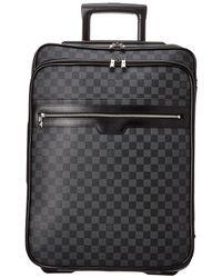 Louis Vuitton Damier Graphite Canvas Pegase 55