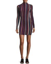 Torn By Ronny Kobo - Stripe Sheath Dress - Lyst