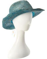 Hat Attack - Raffia Crochet Cowgirl Hat - Lyst