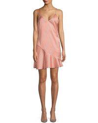 Lea & Viola - Striped Dress - Lyst
