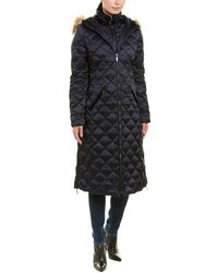Laundry by Shelli Segal - Quilted Down Coat - Lyst