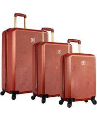 Anne Klein - Aurora 3pc Hardside Luggage Set - Lyst