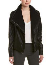 Tahari - Leather Jacket - Lyst