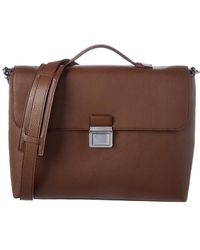 MICHAEL Michael Kors - Bryant Large Leather Briefcase - Lyst