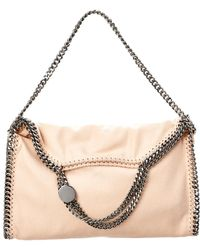 Stella McCartney - Falabella Shaggy Deer Fold Over Tote - Lyst